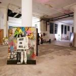 Mr. Brainwash Art Show 2011