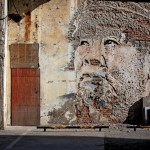 New street art in shanghai by Vhils
