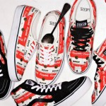 Supreme x Vans Authentic Campbell's Soup Shoe