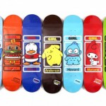 The Girl x Sanrio Skateboard Series