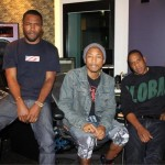 Pharrell, Frank Ocean and Jay Z In The Studio