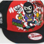 The DGK x Tokidoki New Era Snapbacks