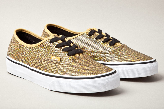vans authentic glitter dot pack