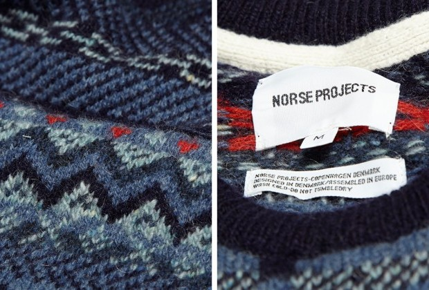 Norse Projects Birnir Fair Isle Wool Sweater - Supex MagazineSupex ...