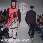Astrid Andersen AW15 at London Collections Men