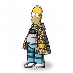 Tommy Bates: The Simpsons Characters Illustrated in Streetwear