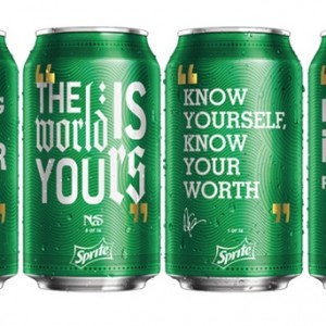 Drake, Nas, Biggie, Rakim Lyrics to Appear On Sprite Cans 1