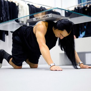 Rick Owens store table hong kong 5