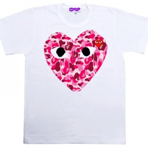 First look at the A Bathing Ape x Comme des Garcons PLAY Collection