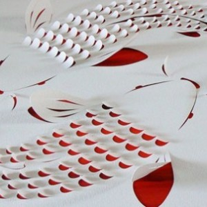 Handmade Cut Paper Art By Lisa Rodden