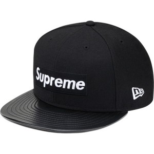 Supreme x New Era: Leather Visor