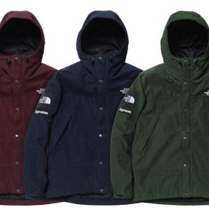 The North Face x Supreme: Mountain Shell Jacket & Medium Day Pack Backpack